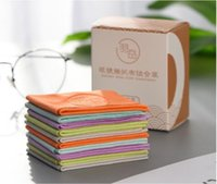 Multi-function Household 5piece high-quality super-fine and thick glasses cleaning cloth muti-color function pilling with Strong detergency