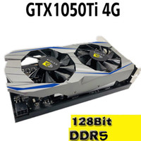 Wholesale video games pc resale online - New independent graphics card GTX1050Ti G DDR5 desktop hd PC games