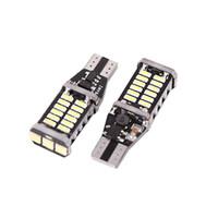 921 birne t15 großhandel-2 stücke Canbus Fehlerfrei T15 W16W 30 4014-SMD-LED Weiß Auto Innenbeleuchtung Lampen Keil Tür Armaturenbrett Panel Auto Lampe 921 922 939