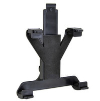 suporte para tablet para carro venda por atacado-Assento traseiro do carro universal suporte ABS + PC Ajustável para tablet pc ipad e qualquer outro 7.9-11 polegadas LLFA