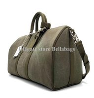en iyi hakiki deri çantalar toptan satış-Yüksek Kalite En Iyi Fiyat Kadınlar Bez Çanta çanta Çanta Hakiki deri kayış kolları yeni moda marka tasarımcısı