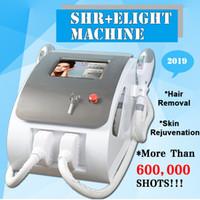 diodo pelo ipl al por mayor-Nueva IPL depilación permanente OPT SHR diodo láser de depilación de la piel e luz equipo de rejuvenecimiento de envío libre de DHL