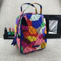 Wholesale lunch bag insulated for sale - Group buy Children Lunch Bag insulated coolers Printing Countryside Tote Sack Stay Warm Handbag Kitchen Supplies Eco Friendly Reusable jy UU