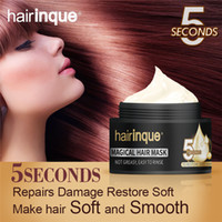 50ml Hairinque Magical Treatment Hair Mask Moisturizing Nourishing 5 Seconds Repairs Damage Hair Restore Soft Hair Care Mask