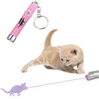 Wholesale bright laser pointer for sale - Group buy LED Laser Toy Cat Laser Toy Cat Pointer Pen Interactive With Bright Animation Mouse Shadow Creative Funny Pet