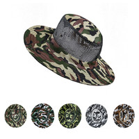 Wholesale red bucket hat men resale online - Waterproof Sun Hat Bucket Summer Men Women Fishing Boonie Hat Sun UV Protection Long Large Wide Brim Bob Hiking Outdoor