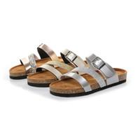 yeni platform flip flop'ları toptan satış-2019 Yeni Kadın Yaz Ev Terlik Çevirme Peep Toe Sandalet Glitter Sandalet Platformu Bayanlar Rahat Ayakkabı Zapatos Mujer 15