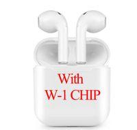 ingrosso auricolari della mora per la vendita-Per AIR PLUS PODS per w1 chip Cuffie senza fili Bluetooth Auricolari Cuffie BT 5.0 / SiRi / Touching vendita calda