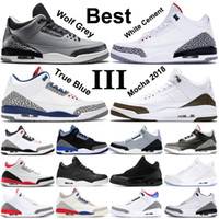 Wholesale rubber cat resale online - Real Shot Wolf Grey Basketball Shoes Mens Fire Red Black Cat White Cement Infrared Sport True blue Men Sneakers trainers US7