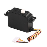 Wholesale model car parts accessories resale online - OCDAY g Plastic Gear Servo V for Wltoys RC Car Model Steering Part Accessories