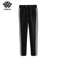 xxl koreanische kleidung großhandel-Adhemar Athleisure Jogginghose für Männer / Frauen-Liebhaber kleidet koreanische Übungshosen