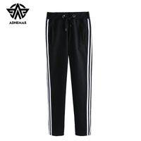 xxl roupa coreana venda por atacado-Adhemar athleisure sweatpants para homens / mulheres amante roupas casuais estilo coreano calças de exercício