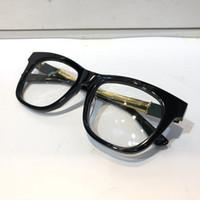 diseñadores de marcos ópticos al por mayor-4237 Gafas de diseño para el marco de la lente óptica del Hombres popular de la manera ahueca hacia fuera el gato completo de ojos Negro tortuga de plata vienen con el paquete 4237S