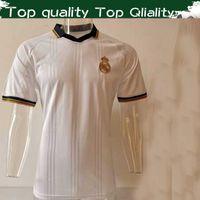 polo de cuello blanco al por mayor-NUEVO Camisa de polo Real Madrid camisetas blancas de fútbol 2019/20 Camisas de cuello POLO para hombre 19 20 Uniformes de fútbol Venta