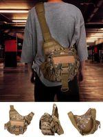 Wholesale fishing waist tackle bags for sale - Group buy Fishing Sling Pack Messenger Bag Sling Pack Fishing Tackle Bag One Shoulder Multi Functional Waist for