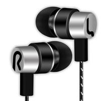 Wholesale apple earphones 3.5mm resale online - New woven wiring mm international standard in ear wired earphones headset mobile phone MP3 universal no microphone