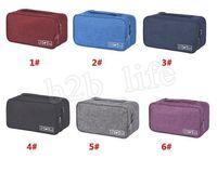 ingrosso reggiseno dei calzini-Grande capacità Bra Underwear Storage Sacco Ordinamento Organizzatore per i calzini di viaggio Cosmetica del cassetto Abbigliamento Pouch 6 colori MMA2248