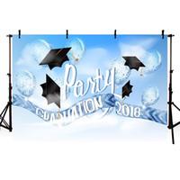 Wholesale graduation backdrop paintings for sale - Group buy MEHOFOTO Vinyl Photography Backdground Graduation Season Celebration School Bachelor Cap Children Backdrops Studio Banner G
