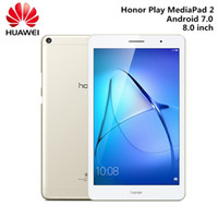 huawei tablet pc оптовых-Huawei Honor Play MediaPad 2 Tablet PC WiFi 8.0 дюймов Android 6.0 Qualcomm Snapdragon 425 Quad Core 4GB 64GB Bluetooth таблетки
