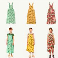 vestido de las muchachas de la vaca al por mayor-Bobozone Tao Cow Kids Dress For Kids Girls J190618
