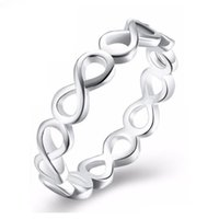 Wholesale silver rings for women prices for sale - Group buy 2019 hot sell white rings special gift for woman with lowest price size