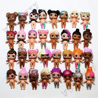 sıcak oyuncaklar pvc toptan satış-Son çıkan Orijinal LOL Bebek DIY Oyuncaklar Rastgele Modelleri bebek Toplu lol bebek LOL Oyuncaklar Sevimli kızlar için giyinmek k ...