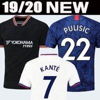 futbol fußball großhandel-En tayland kaliteli PULISIC WILLIAN JORGINHO CHELSEA soccer jersey f0utbol forması 2019 2020 GIROUD KANTE Camiseta futbol takımı forması 18 19 20 BAKAYOKO RUDIGER WILLIAN