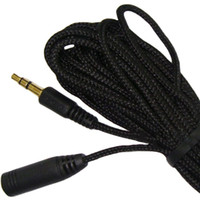 3.5mm Stereo Audio Earphone Extension Cable 5m 3m 1.5m Ultra Long for headphone computer cellphone MP3 4