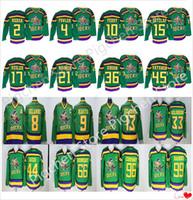 Wholesale mighty ducks resale online - Mighty Ducks Movie CCM Vintage jerseys Adam Banks Charlie Conway Gordon Bombay Paul Kariya Teemu Selanne Hockey Jersey