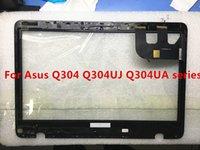 touchscreen digitalisierer glas für asus großhandel-Freies Hipping 13,3 '' Glass Touch-Screen-Digitizer + Bezel Ersatz-Laptop für Asus Q304 Q304U Q304UA Series