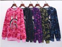 suéteres de lana unisex al por mayor-Fleece Casual Unisex Hoodies Hombres Mujeres sudadera fresco de hip pop Pullover Hip Hop Punk hombre Sportwear capa de la camisa del basculador del chándal del suéter