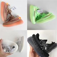 ingrosso scarpe bambini per neonati-adidas yeezy 350 V2 Static ragazzi della neonata Bambini Sneaker basket traspirante Designer di marca Wudao Sport atletici Scarpe casual Primavera Running Scarpe per bambini