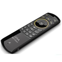 Wholesale remotes resale online - USB Rechargeable Handheld Adjustable Multi media Remote Control Function GHz Wireless Mini Keyboard
