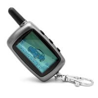 sistemas de arranque de alarma de coche al por mayor-Rusia STARLINE A6 Remote Starter LCD sistema de alarma de coche bidireccional nuevo control remoto / transmisor FM