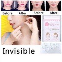 Wholesale Invisible Face Facial Stickers Facial Line V Shape Face Lift Tape Scotch For Face Make Up Beauty Tools Set RRA662
