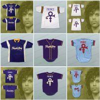 beyzbol formaları minnesota toptan satış-Prens Tribute Mor Yağmur Erkekler Beyzbol Jersey Prens Tribute Minnesota Kadınlar / Gençlik Formalar% 100 Dikişli Formalar S-3XL Ücretsiz Kargo