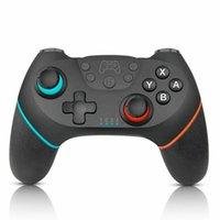 joystick de jogos sem fio venda por atacado-Controlador sem fio bluetooth manuseio pad joystick pad para Nintendo switch