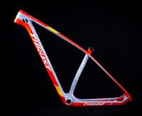 çinli karbonlu bisikletler toptan satış-Güvenen Karbon Bisiklet Çerçeve 29er Disk Fren BSA BB30 Sistemi Karbon Çerçeve Fiber T1000 Çin Dağ Bisikleti Çerçeve 29er