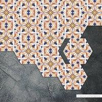 ingrosso adesivi di arte del bagno-Carta da parati in vinile 3d fai da te Decorazioni per bagno Adesivi per piastrelle Adesivi murali Decorazione della cucina di casa Carta da parati impermeabile Wall Art