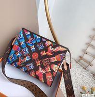 Wholesale leather messager bags for sale - Group buy Designer Women s Handbags Flower Ladies Casual Tote PU Leather Messager Shoulder Bags Female Purse Designer Handbags Purses wallets B51