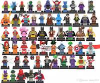 jay oyuncak toptan satış-Tek Süper Kahraman Blazing Kafatası X-23 Patriot Mandarin Jay Garrick Hayalet Maker Flaş Demir Yumruk Oyuncaklar