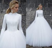 vestidos de noiva muçulmanos venda por atacado-