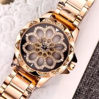 çok renkli kadın izle toptan satış-Elmas İzle lüks İzle lüks kadın saatler 35mm chanil kuvars İzle tasarımcı kadınlar için altın mor saatler çoklu bant renk kol saati