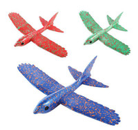 helicoptero rc gyroskop groihandel-200 Stücke Vogel Schaum Flugzeug Modell Hand Werfen Fliegen Segelflugzeug Party Favors Spaß Spielzeug für Kinder Kinder Jungen Mädchen