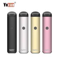Wholesale vape pen ejuice resale online - 100 Original Yocan Evolve E Cigarette Kits With Pods mAh Preheating VV Battery Vape Pen Vaporizer For Thick Oil Ejuice Wax