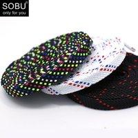 cordón negro de los hombres al por mayor-Color encaje plano blanco cordones zapatillas zapatos cordones hombres y mujeres tendencia en blanco y negro cordones de personalidad