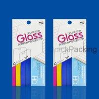 ingrosso scatola di imballaggio di iphone di apple-Scatole vuote per imballaggio al dettaglio Imballaggio per protezione dello schermo in vetro temperato Premium per iPhone XR XS Max X 8 Plus Samsung S7 Egde