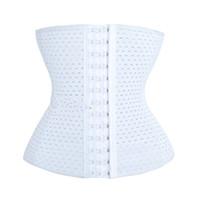 ingrosso corsetto addominale-Hollow Out Corset Cintura addominale Cintura cintura Body donna Vita dimagrante Training Tipo di regolazione ventilazione Big Code 6 6xlf1
