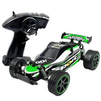 Wholesale two wheel electric car for sale - Group buy 2 ghz kmh High Speed Classic Toys Hobby wd Two Wheel Drive Scale Radio Remote Control Off Road Vehicle Rc Racing Car