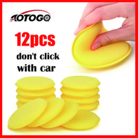 Wholesale tool kit foam for sale - Group buy 12 sponges car wash detailing Wax Polish Foam Sponge For Car Body Glass Wash Cleaning Care Clean Kits Tools Accessories